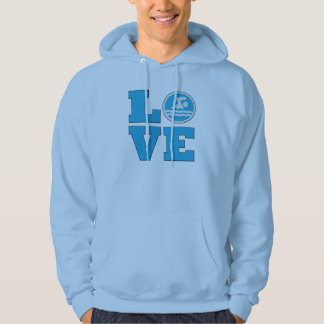 Swim Love For Competitive Swimmers or Coaches Hoodie
