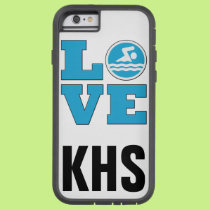 Swim Love IPhone 6 Case for Competitive Swimmers a