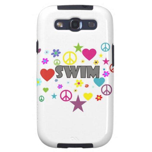 Swim Mixed Graphics Galaxy SIII Case