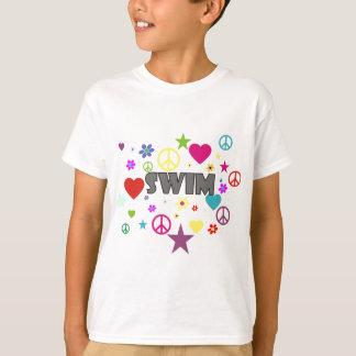 Swim Mixed Graphics T-Shirt
