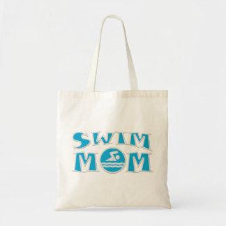 Swim Mom Budget Tote Bag
