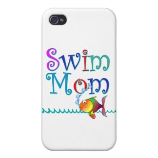 Swim Mom Cover For iPhone 4