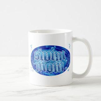 swim moms coffee mug