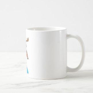 Swim Moose Coffee Mug