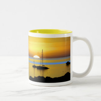 Swim out to it - Yellow  by TDGallery Mug