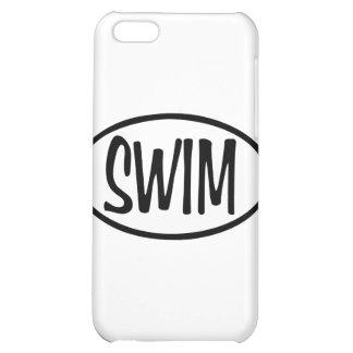 swim oval iPhone 5C covers