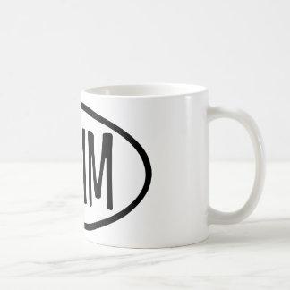 swim oval mug