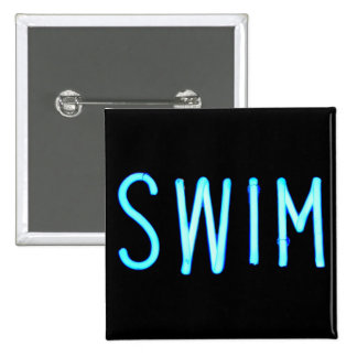 Swim Pinback Button