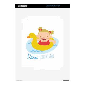 Swim Sensation iPad 2 Skin