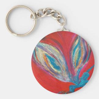 Swim Soar Fairy Basic Round Button Keychain