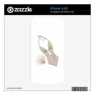 Swim Suit iPhone 4S Decal