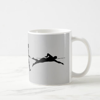 Swim Swimming Sport Evolution Coffee Mug