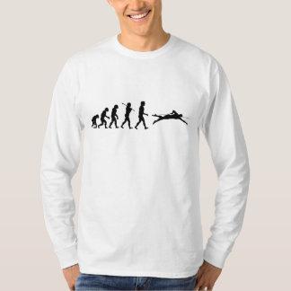Swim Swimming Sport Evolution T-Shirt