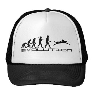 Swim Swimming Swimmer Sport Evolution Art Hat