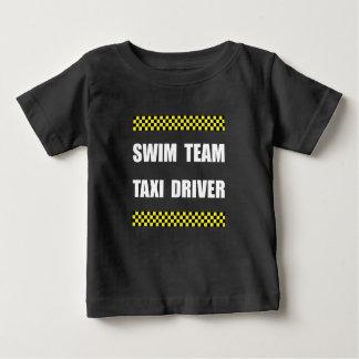 Swim Team Taxi Driver Baby T-Shirt