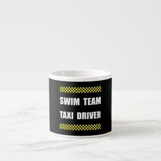 Swim Team Taxi Driver Espresso Cup
