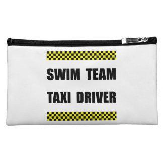 Swim Team Taxi Driver Makeup Bag