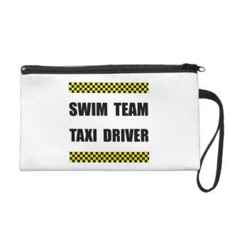 Swim Team Taxi Driver Wristlet