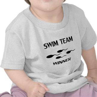 swim team winner icon t-shirt