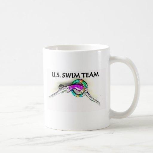 SWIM TEAMS CLASSIC WHITE COFFEE MUG