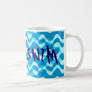 SWIM Themed Typography Mug Gift