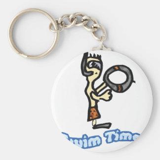 swim time key chains