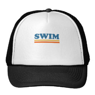 swim trucker hat