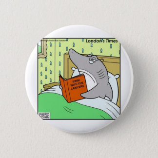Swim W/The Lawyers Funny Tees Gifts & Collectibles Button