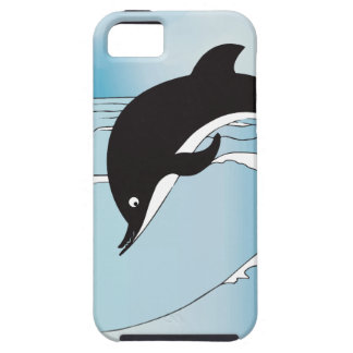 Swim With Dolphins iPhone SE/5/5s Case