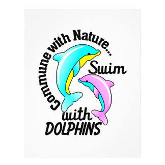 Swim With Dolphins Letterhead