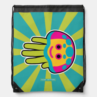 Swim with Immortal Jellyfish Drawstring Bag