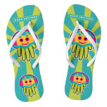 Hand shaped Swim with Immortal Jellyfish Flip Flops