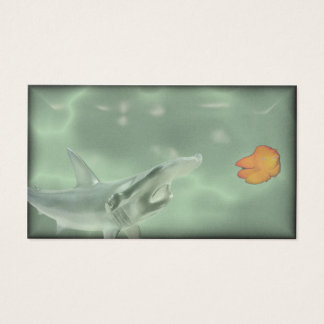 swim with the big fish business card