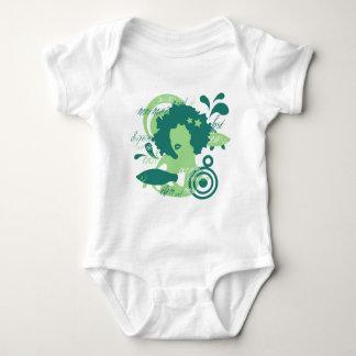 Swim With The Mermaids Baby Bodysuit