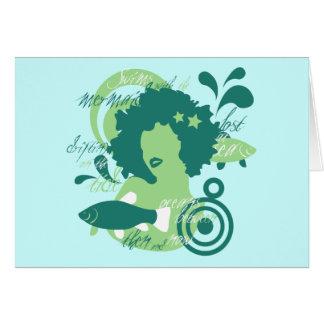 Swim With The Mermaids Card