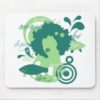 Swim With The Mermaids Mouse Pad