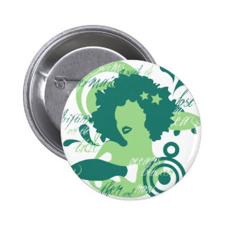 Swim With The Mermaids Pinback Button