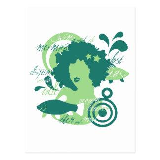 Swim With The Mermaids Postcard