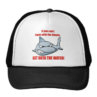 Swim with the Sharks Mesh Hat