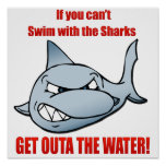 Swim with the Sharks Posters