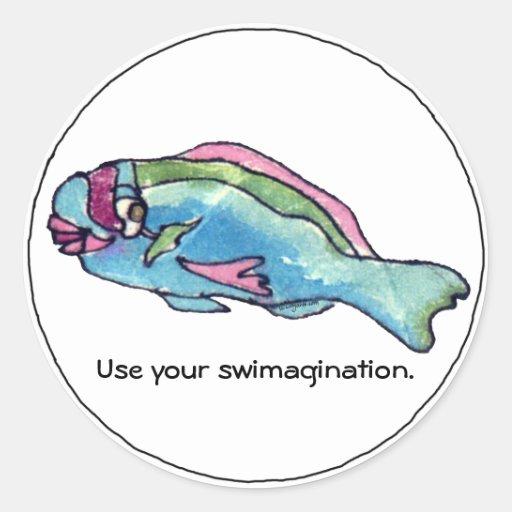 Swimagination Cute Fish Sticker