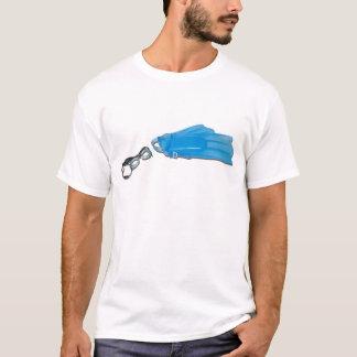 SwimGogglesFlippers103110 T-Shirt