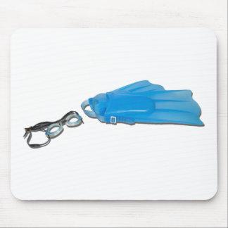 SwimGogglesFlippers103110 Mousepad