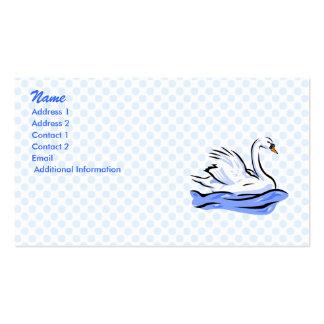 Swimmee Swan Business Card