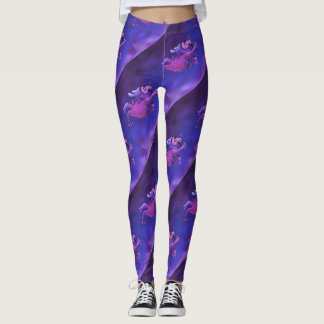 SWIMMER 1 ALIEN MONSTER CARTOON  LEGGINS LEGGINGS