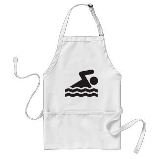 Swimmer Adult Apron