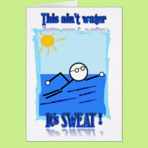 Swimmer Card