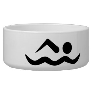 Swimmer icon pet bowls