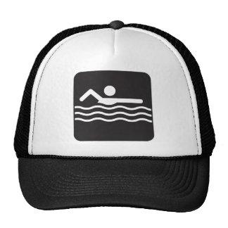 Swimmer Icon Trucker Hat