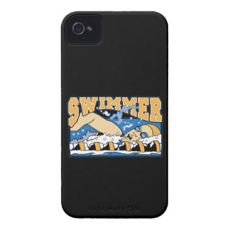 Swimmer iPhone 4 Cover